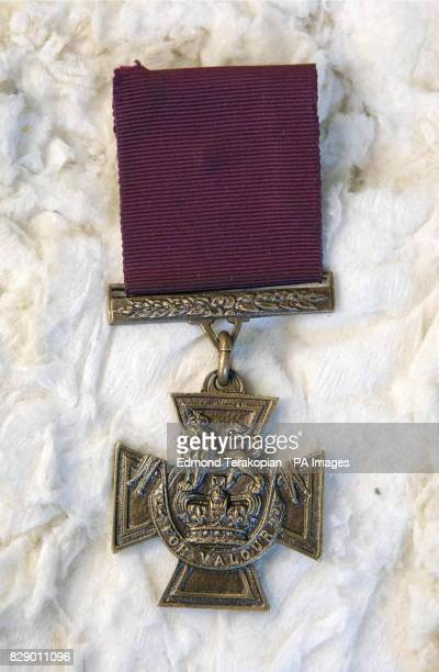 The Victoria Cross which was awarded to Warrant Officer Norman Jackson The family of the legendary Second World War airman hoped to add their...