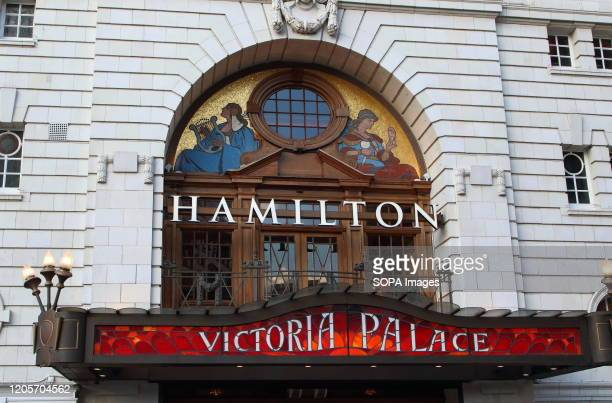 The Victoria Palace Theatre current home to the blockbuster smash hit musical 'Hamilton' in London's home of Theatre - The West End. Some of the most...