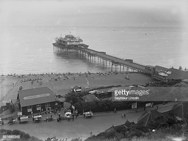The Victoria Pier in Folkestone Kent circa 1930