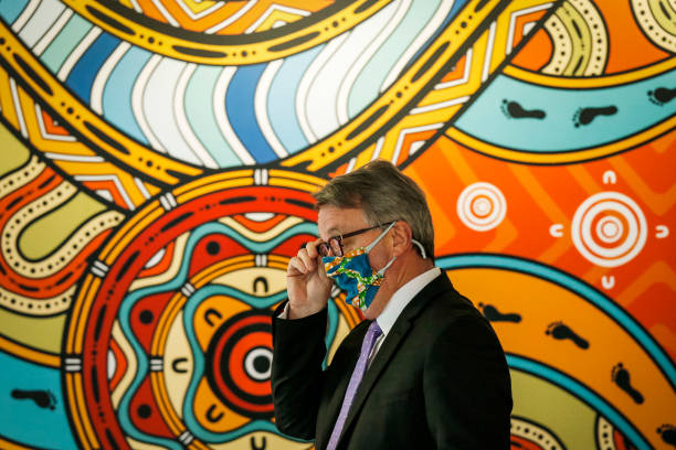 AUS: Victorian Premier Gives Covid-19 Update As State Awaits News On Relaxed Restrictions