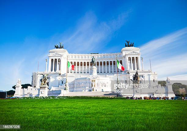 the victorian - altare della patria stock pictures, royalty-free photos & images