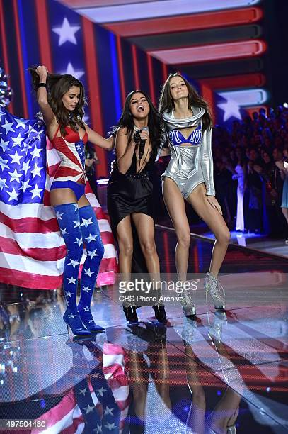 The Victorias Secret Angels return to New York City on THE VICTORIAS SECRET FASHION SHOW Tuesday Dec 8 on the CBS Television Network Pictured...
