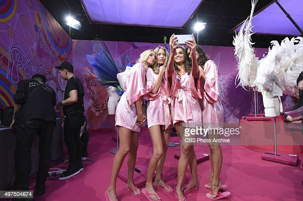 The Victoria's Secret Angels return to New York City on THE VICTORIA'S SECRET FASHION SHOW Tuesday Dec 8 on the CBS Television Network Pictured...