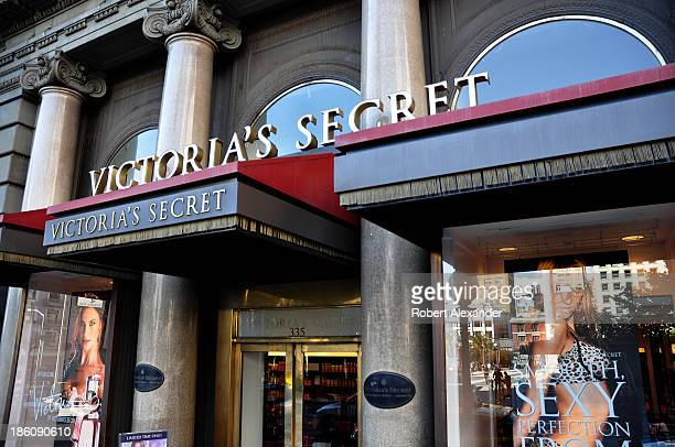 The Victoria's Secret lingerie and womenswear store is located in San Francisco's Union Square shopping district on October 4, 2013 in San Francisco,...