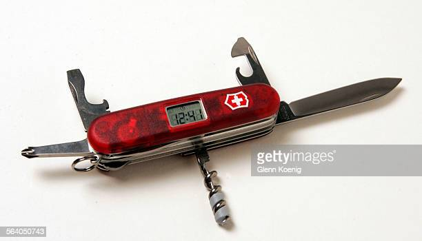 The Victorinox Voyager Lite Swiss Army pocketknife $9600 This photo is for the annual Travel Section Resource Guide