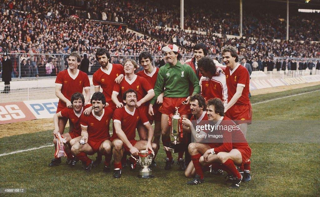 Liverpool 1982 League Cup Wwinners : News Photo