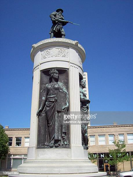 The Victory Monument is located at 35th Street and Martin Luther King Drive on Chicago's south side It honors the Eighth Regiment of the Illinois...