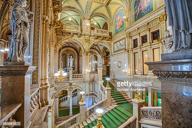 the vienna state opera - vienna state opera stock pictures, royalty-free photos & images