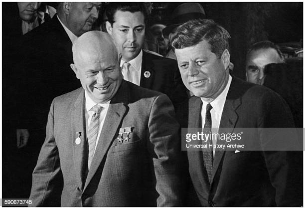 The Vienna summit was a summit meeting held on June 4 in Vienna, Austria, between President John F. Kennedy of the United States and Premier Nikita...