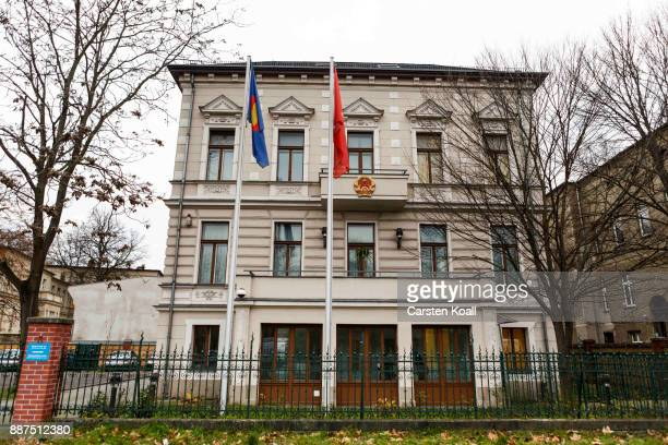 The Vietnamese Embassy stands on December 7 2017 in Berlin Germany According to German newspaper Sueddeutsche Zeitung evidence suggests the...