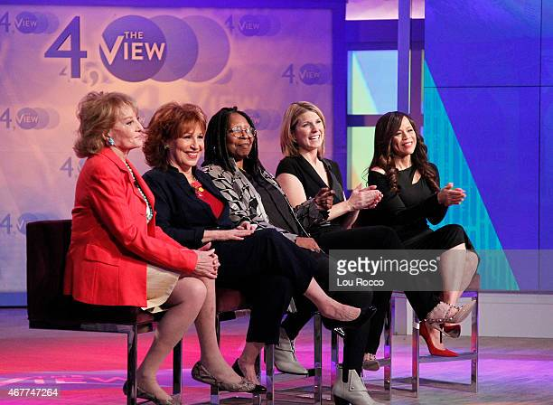 THE VIEW The View celebrates 4000 shows with guest cohosts Barbara Walters and Joy Behar Guests include Elisabeth Moss and Mario Cantone airing...