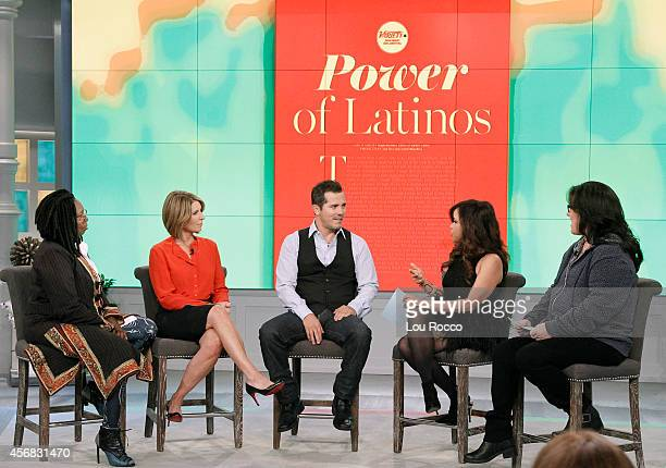 THE VIEW The View celebrates Hispanic Heritage Month with United States Treasurer Rosa Rios John Leguizamo and Ana Ortiz today Monday October 6 2014...