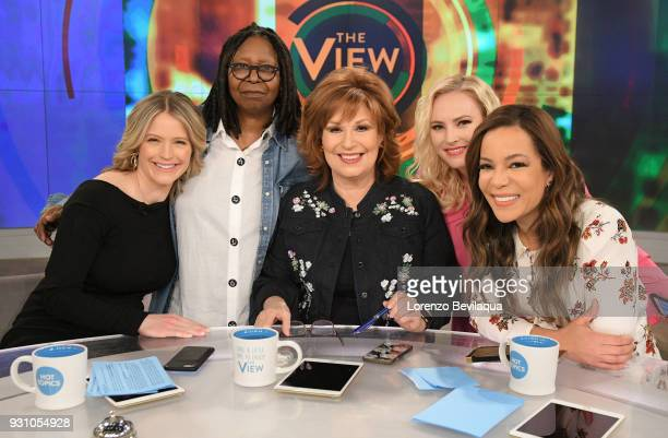 THE VIEW 'The View' cohost Sara Haines returns from maternity leave Monday March 12 2018 'The View' airs MondayFriday on the ABC Television Network...