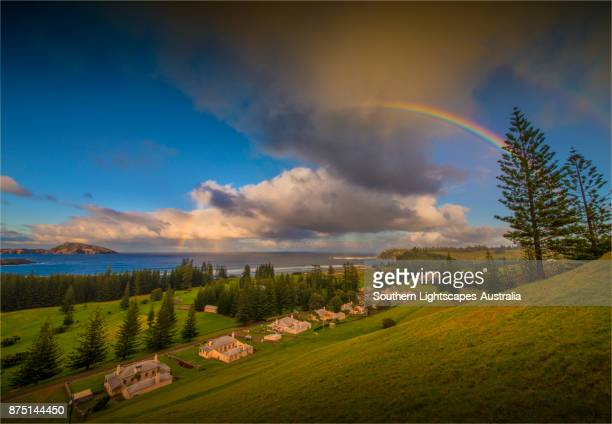 The view from Elizabeth lookout, Kingston, Norfolk Island, South Pacific