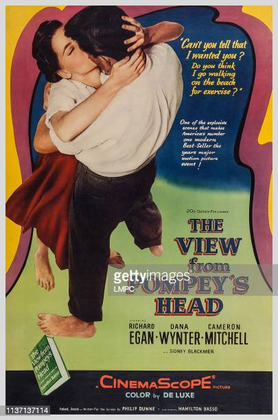 The View From Pompey's Head poster US poster art from left Dana Wynter Richard Egan 1955