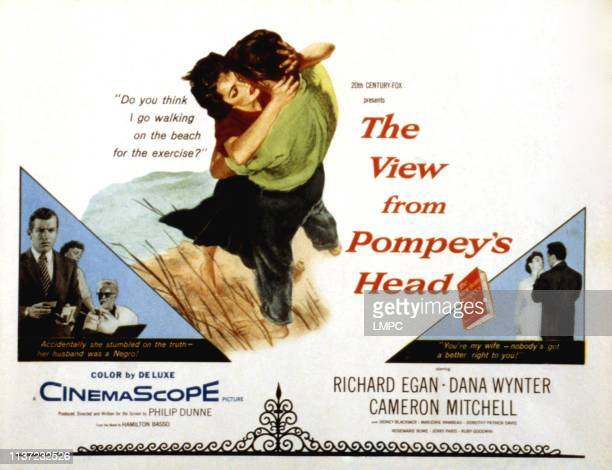The View From Pompey's Head poster US poster Richard Egan Dana Wynter 1955