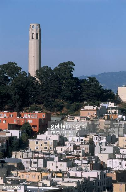 The view from Russian Hill. Vue depuis Russian Hill.