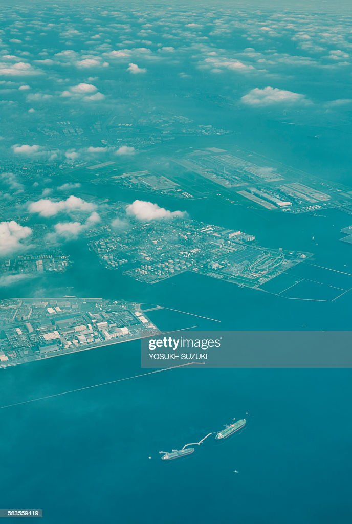 The view from the sky : Stock Photo