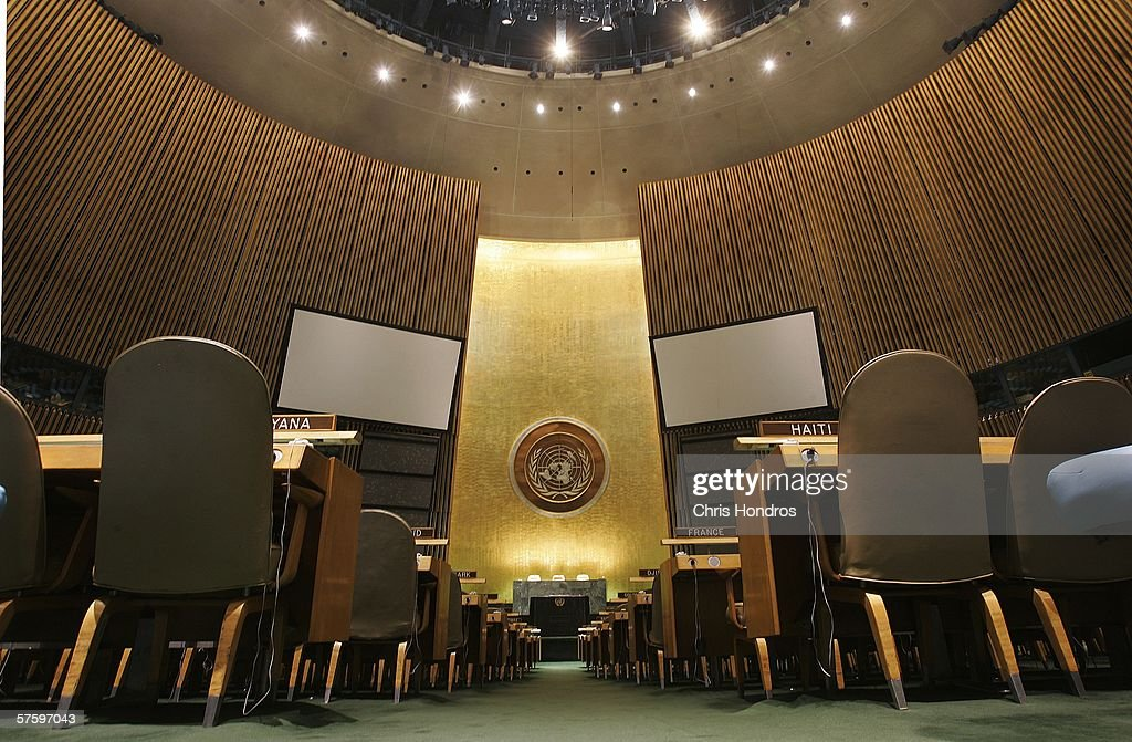 Behind The Scenes At The United Nations : News Photo