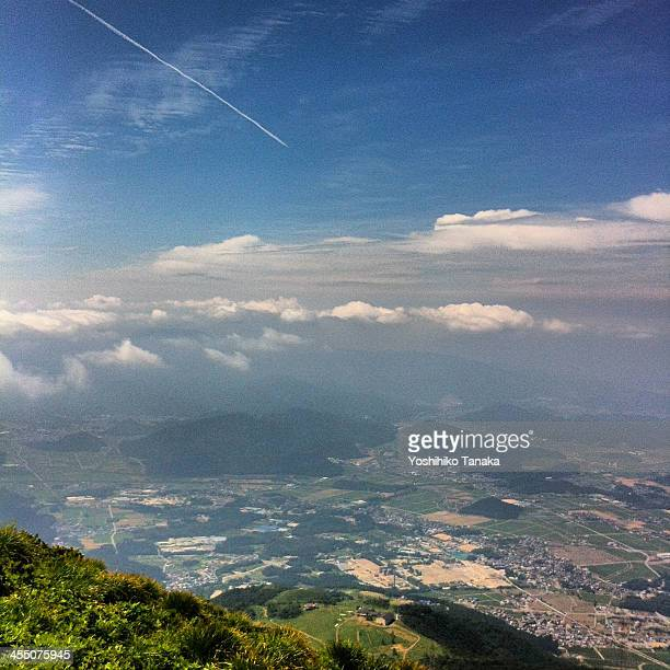 The view from the summit Ibuki