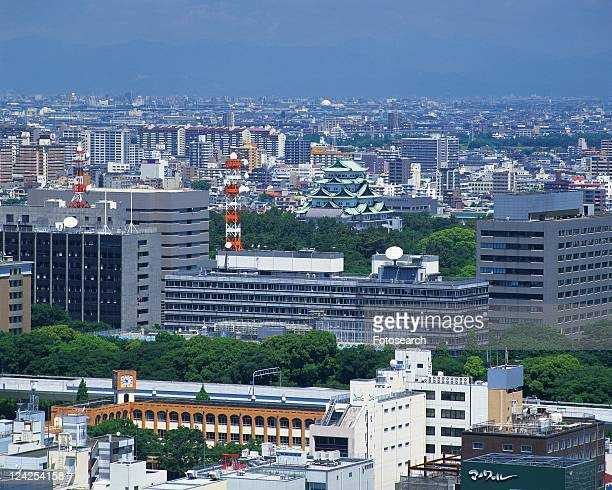 The View from TV Tower, Nagoya City, Japan, High Angle View, Pan Focus