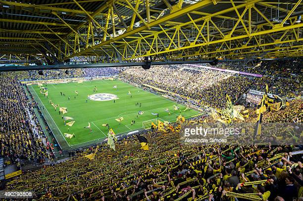 signal iduna park stock photos and pictures getty images