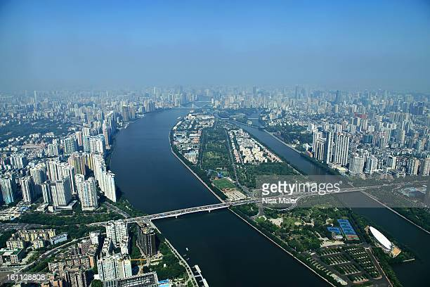 The view is fantastic from the top of Canton Tower, though the entrance fee to the top cost about 30 Euro - that's really a lot but as it was such a...