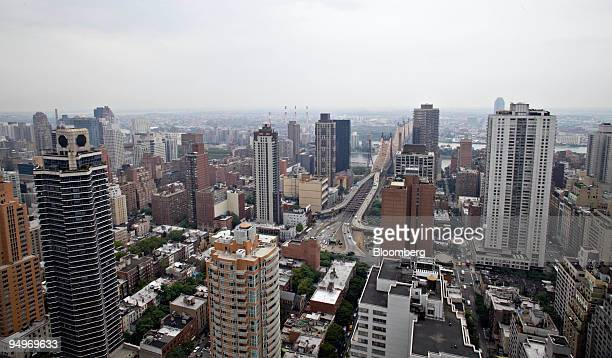 The view looking east off the terrace of the apartment of Marc Dreier, the founder of law firm Dreier LLP who was sentenced to 20 years in prision...