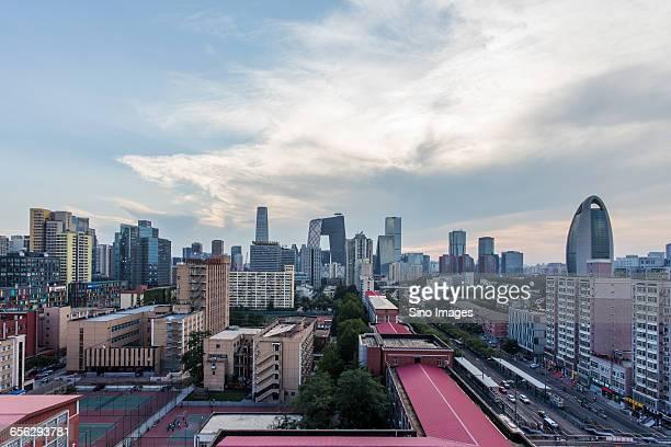 The View of Beijing CBD