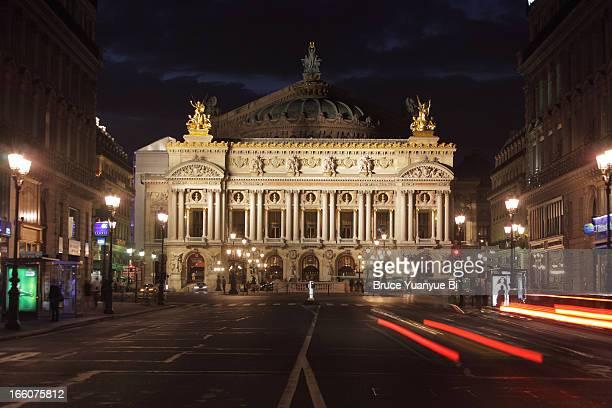 The view of Opera House of Paris Palais Garnier