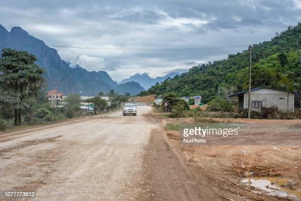 The view of Vang Vieng Laos in December 2018 Since the end of the 90s Vang Vieng has been opened as a tourist site for western backpackers The town...