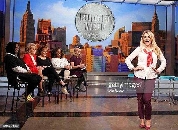 """THE VIEW """"The View"""" participates in the Disney/Walt Disney Television via Getty Images Television Group """"Day of Giving"""" to help those impacted by..."""