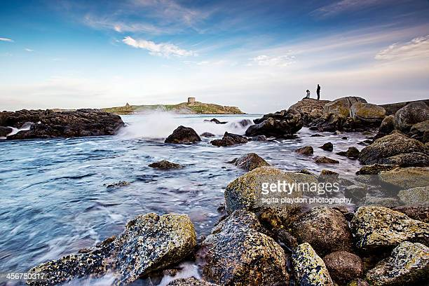 the view - dalkey stock pictures, royalty-free photos & images