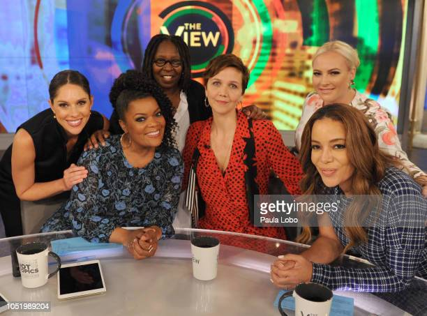 THE VIEW 'The View' welcomes Raven Symone and Maggie Gyllenhaal to airs 10/11/18 'The View' airs MondayFriday on the ABC Television Network HOSTIN