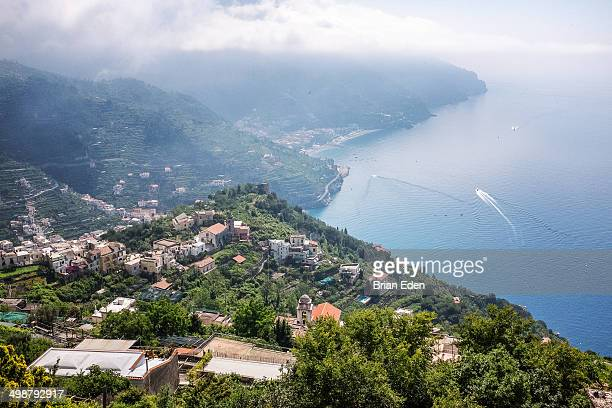 The views from Ravello on the Amalfi Coast