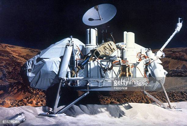 The Viking 1 Lander Part of the Viking 1 mission to Mars