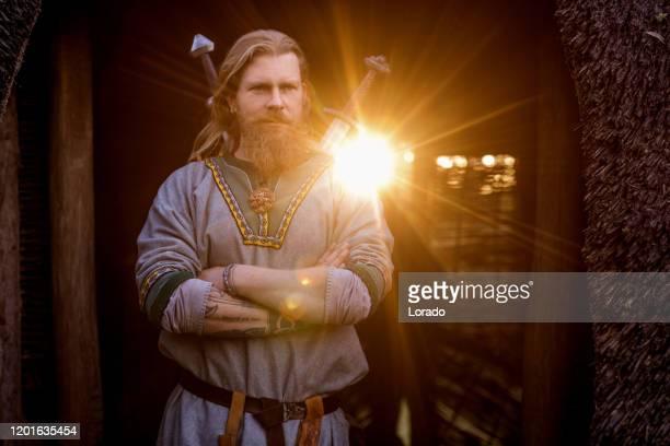 ザ バイキング サン キング - 酋長 ストックフォトと画像