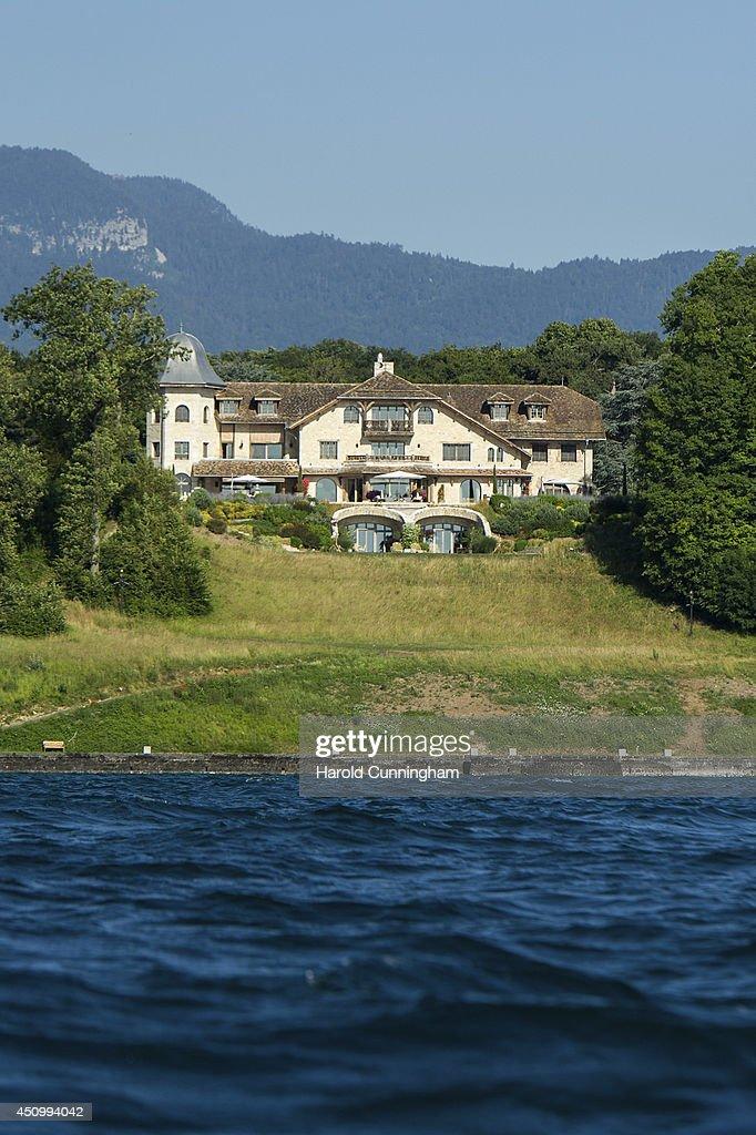 The Villa La Reserve House Of Formula One Champion Michael Schumacher Pictured