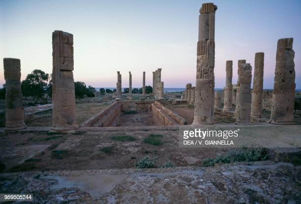 The Villa of Columns Apollonia near Susah Libya Greek and Roman civilization