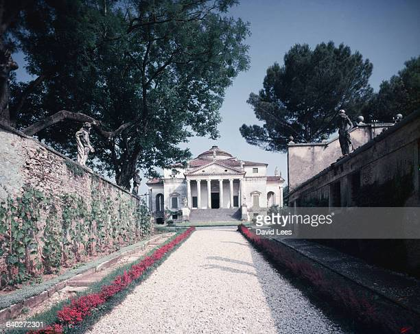 The Villa Rotunda in Vicenza built by the Italian architect Andrea Palladio in 1567