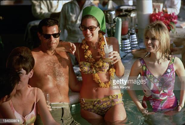The Villa Vera Hotel Spa and Racquet Club in Acapulco January 1968