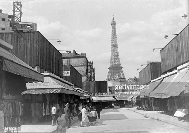 The Villa Wagram close to the Eiffel Tower in October 1929 in Paris France