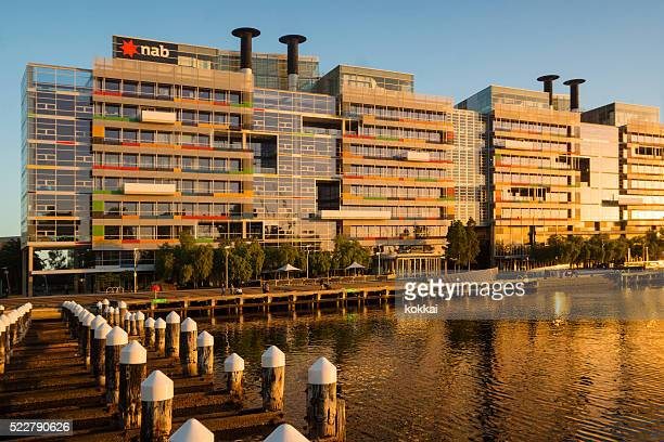 the village at nab, docklands - national landmark stock pictures, royalty-free photos & images