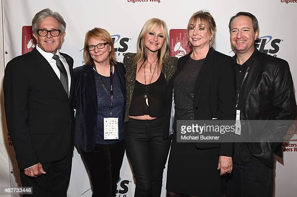 The Village CEO Jeff Greenberg Omnivore Recordings Cheryl Pawelski musician Mindi Abair Senior Executive Director of the Producers Engineers Wing...