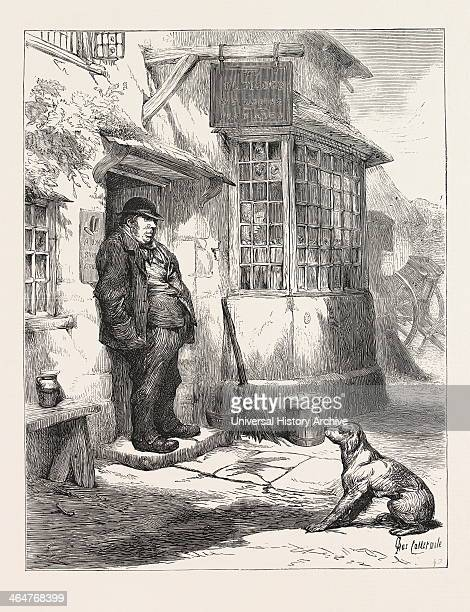 The Village Comedy The Landlord Was A Man Of Daniel Lambert Build There Was A Kind Of Surliness In His Civility His Burly Form At The Doorway Seen...