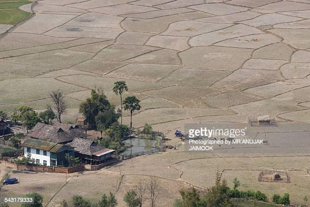 The village in Keng Tung, Shan state, Myanmar