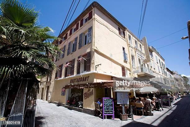 The village of Bandol on June 22 2013 in Bandol Cote d'Azur France