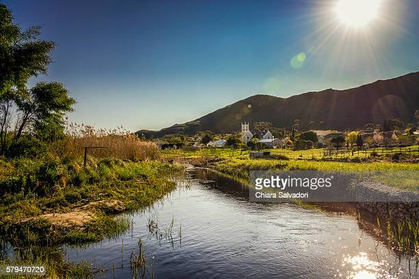 The village of Barrydale, South Africa