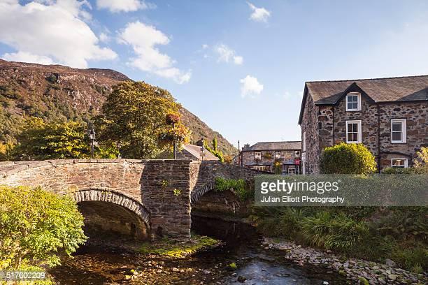 The village of Beddgelert, Gwynedd, Wales