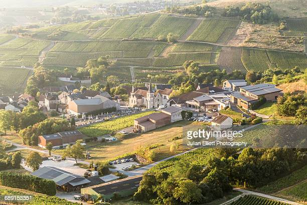 the village of chavignol near sancerre. - cher stock pictures, royalty-free photos & images